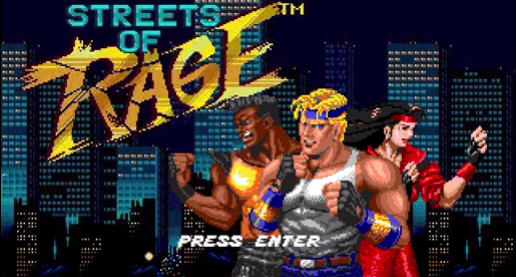 Streets Of Rage Tribute